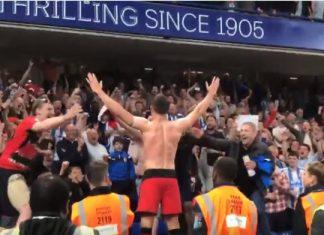 huddersfield sarjapaikkansa puoliaika