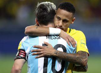 MM-ennakkopaketti Brazil v Argentina - 2018 FIFA World Cup Russia Qualifier