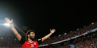 Egypt v Congo -salah mm-kisoissa