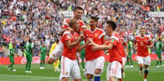 venäjälle vakuuttava voitti MM-kisojen avausmatsissa puoliaika