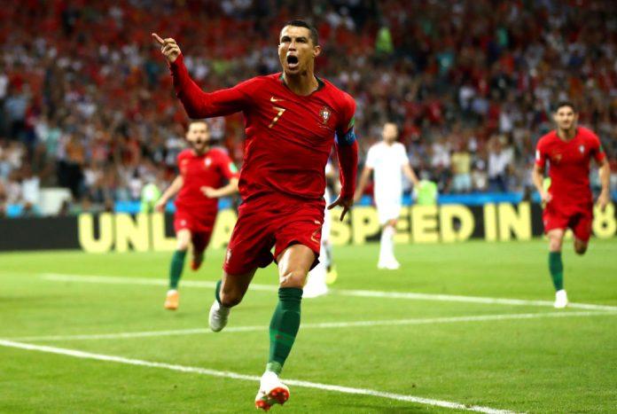 ronaldo pamautti Portugal v Spain: Group B - 2018 FIFA World Cup Russia
