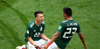 saksa on lyöty meksiko voitti saksan puoliaika