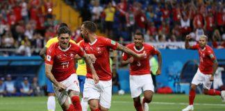 Brasilia ja Sveitsi kohtasivat E-lohkon ottelussa sunnuntai-iltana. Sveitsi venyi lopulta 1-1-tasapeliin.