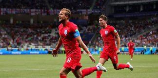 Englanti kaatoi Tunisian