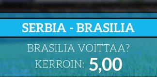 Brasilia-Serbia 5,00
