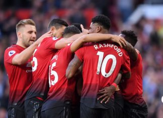 Manchester United kaatoi leicesterin