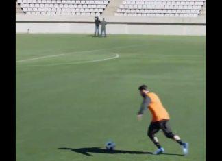 Video: Messi laittoi putket haastattelijalta, joka oli 40 metrin päässä